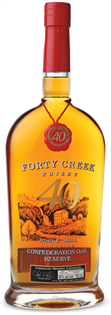 Forty Creek Canadian Whisky Confederation...